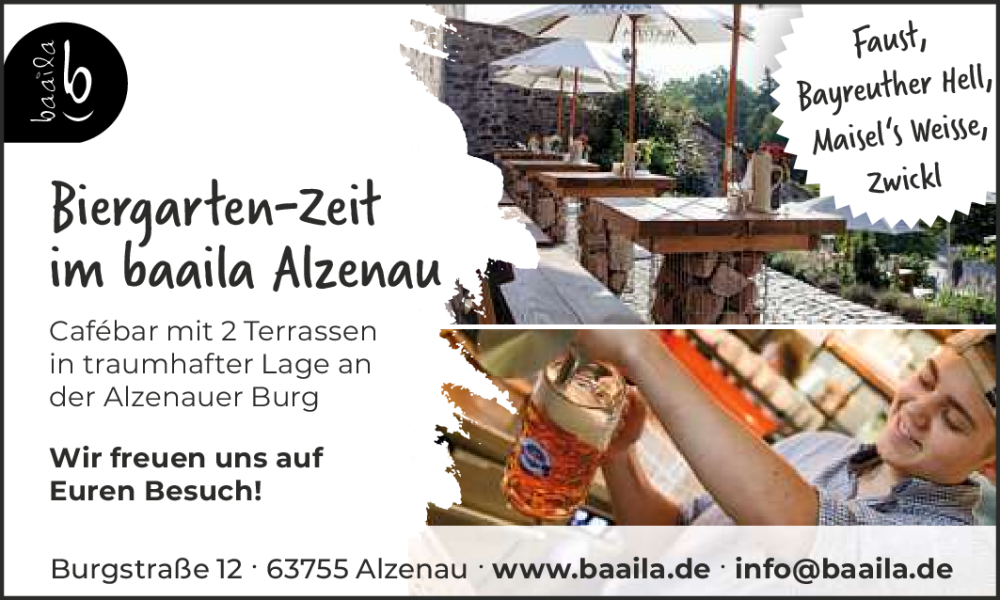 Biergarten In Aschaffenburg Und Der Region